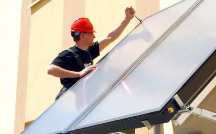 Saulės kolektorių sistemos aptarnavimas